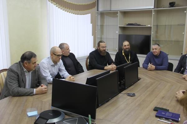 Состоялась встреча руководства УФСИН России по Тюменской области с новым составом Общественной наблюдательной комиссии