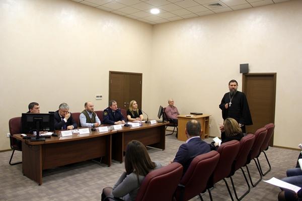Управление ФСИН России по Тюменской области приняло участие в круглом столе по вопросам ресоциализации освободившихся из мест лишения свободы
